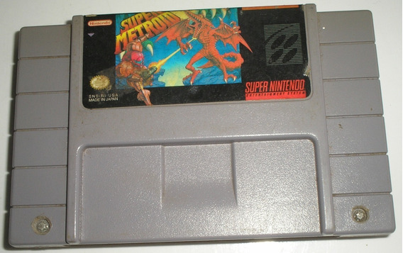 Super Metroid Super Nintendo Paralela Usada