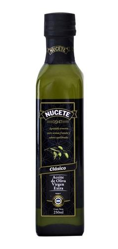 Aceite De Oliva Nucete Virgen Extra Botella X 250 Ml