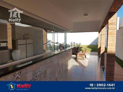 Casa Com 3 Dormitórios À Venda, 250 M² Por R$ 870.000 - Condomínio Gramado - Álvares Machado/sp - Ca0081