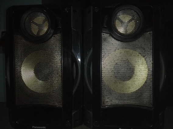 Duas Caixas Acústica Panasonic