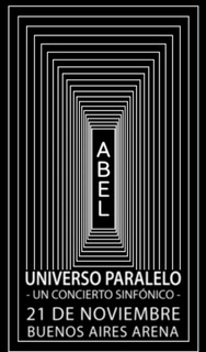 Entradas Abel Pintos 21/11 Arenas Platea Preferencial 102