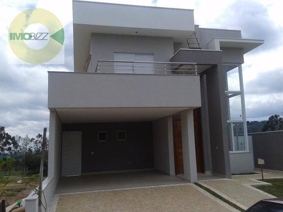 Casa Residencial À Venda, Condomínio Vita Verdi, Valinhos. - Ca1828