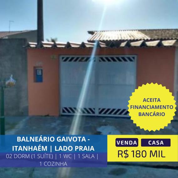 Casa Lado Praia Próximo Do Comércio Em Itanhaém Litoral Sp