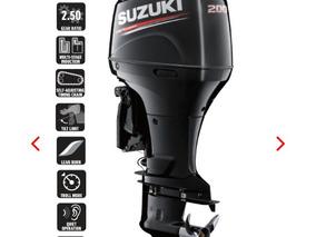 A Motor De Popa Suzuki 200 Hp 4t. Injeçao Okm 12 Vezes !