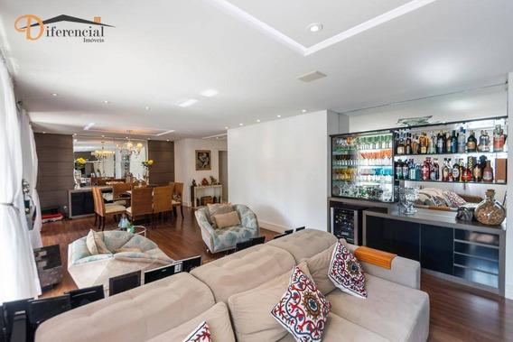 Apartamento À Venda, 182 M² Por R$ 1.290.000,00 - Cristo Rei - Curitiba/pr - Ap2301