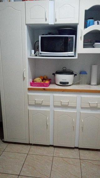Mueble Blanco De Cocina