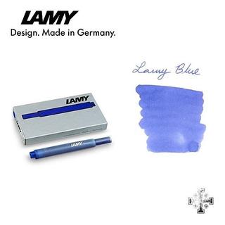 Cartucho Para Pluma Fuente Lamy T10. Azul (5 Pzas)