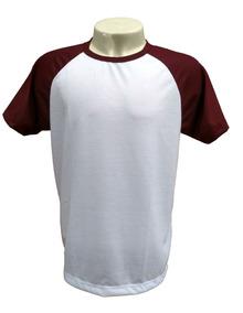 Kit 20 Camisetas Raglan Blusa Poliéster Sublimação Atacado