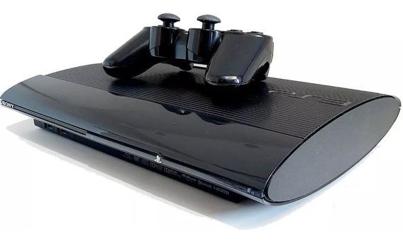 Ps3 Playstation 3 Super Slim + 80 Jogos Originais