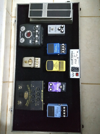 Pedais De Guitarra+boss+marshall+zoom+meteoro