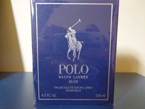Perfume Polo Blue Novo Na Caixa