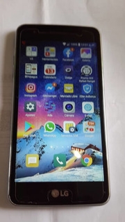Teléfono Lg Aristo 16gb Pantalla Rota 100% Operativo