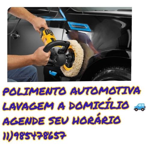 Imagem 1 de 3 de Lavagem Automotivo Domicílio