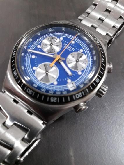 Ojo Un Detalle: Leer Descripción Reloj Swatch Irony Acero