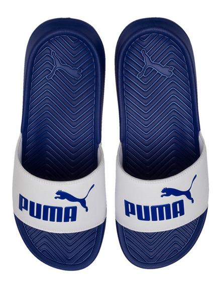 Ojotas Puma Popcat Hombre Az/bl