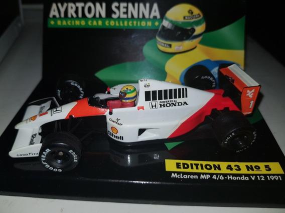 F1 - Ayrton Senna - Mclaren - Último Título - 1991 - 1:43