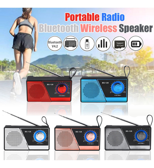 Super Alto Portátil Sem Fio Bluetooth Speaker Estéreo Rádio