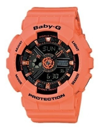 Reloj Casio Ba-111-4a2 Mujer Baby-g Envio Gratis