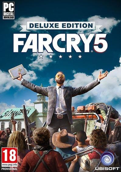Far Cry 5 Pc Game Mídia Física Frete Barato