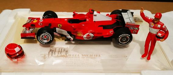 Carro F1 A Escala Edición Limitada Ferrari Schumacher J2996