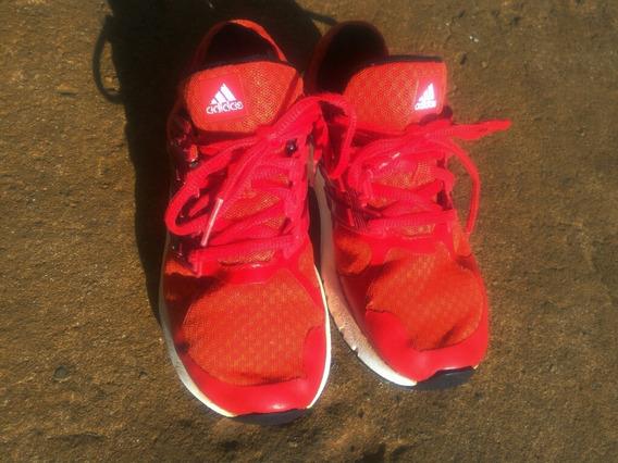 Zapatillas adidas Nº32 Unisex. Excelente Estado . Rojas.