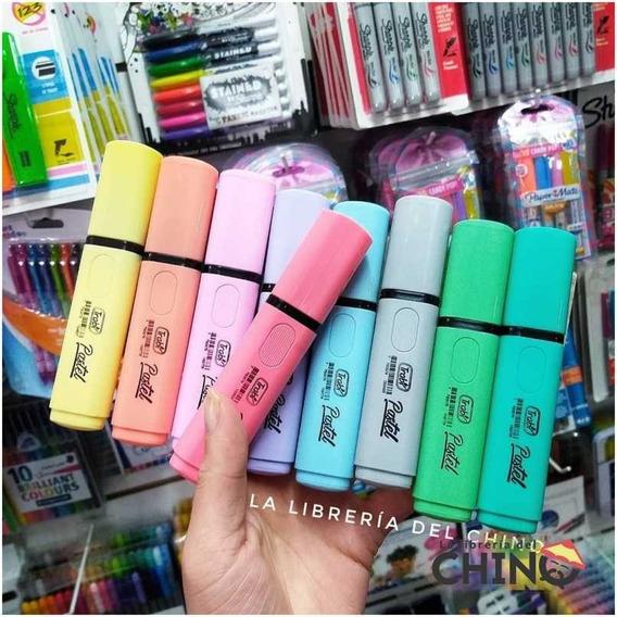 Los 9 Colores De Resaltador Trabi Pastel - Rosario