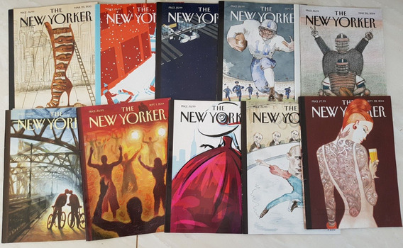 Lote 4 Revistas The New Yorker 2012/3/4 - 10 Revistas
