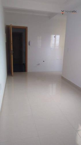 Cobertura Com 2 Dormitórios À Venda, 50 M² Por R$ 340.000,00 - Vila Camilópolis - Santo André/sp - Co0362