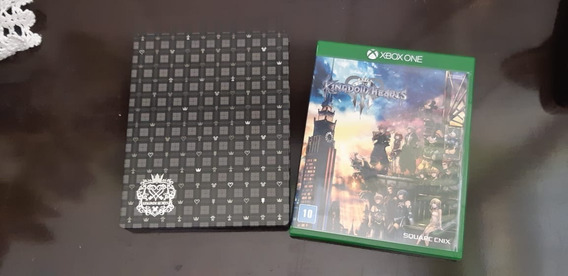 Kingdom Hearts 3 + Steel Box Xone