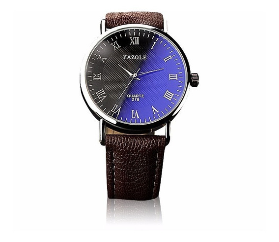 Reloj Casual Para Caballero De Acero Y Vidrio Moderno