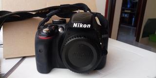 Cámara Nikon D 3300 Prof + 18-55 Afp Vr + Estuche +trípode