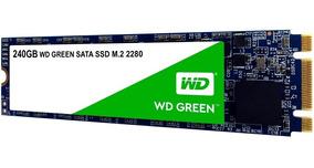 Hd Ssd M2 Sata Wd Green M.2 240gb 2280 Note Pc Lacrado 12x