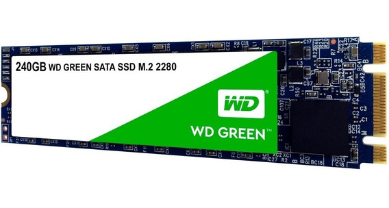 Hd Ssd M2 Sata Wd Green M.2 240gb 2280 Note Pc Lacrado 12x