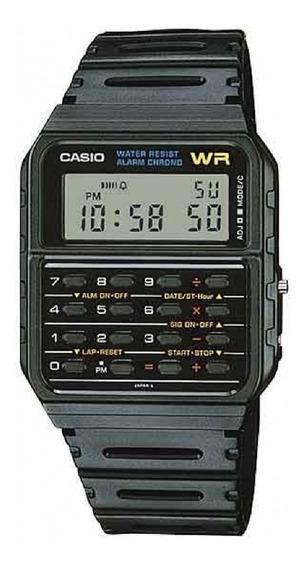 Relógio Casio Calculadora Vintage Preto Ca-53 Frete Grátis!!