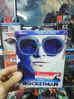 Rocketman Blu-ray Steelbook Local A La Calle En Belgrano