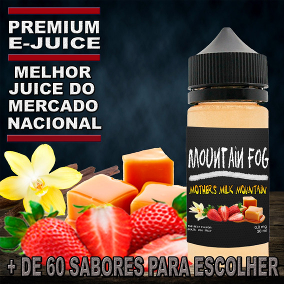 4 Essencia Líquida E Juice E Liquid Premium 30ml + Brinde