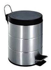Imagen 1 de 6 de Cesto Residuos Acero Inox 12 Litros D'accord