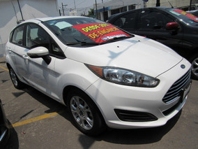 Ford Fiesta Se Aut Blanco 2016