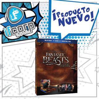 Fantastic Beasts Harry Potter Pop Up Blu Ray + Dvd