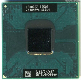 Processador Notebook Intel Core 2 Duo T5500 1.66 2m 667