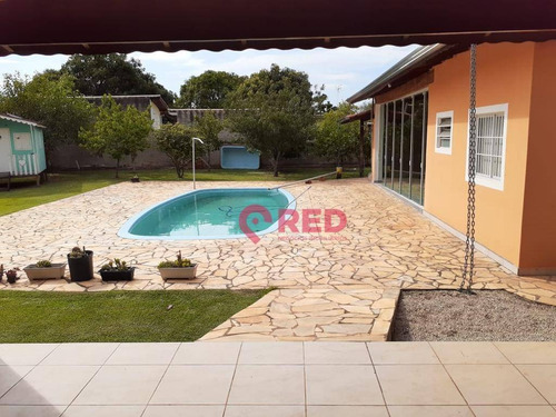 Ótima Oportunidade Chácara Com 3 Dormitórios À Venda Por R$ 980.000 - Jardim Salete - Araçoiaba Da Serra/sp - Ch0031