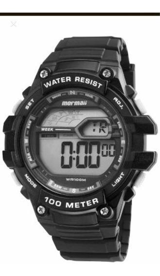 Relógio Mormaii Masculino Preto Mo3480a/8k