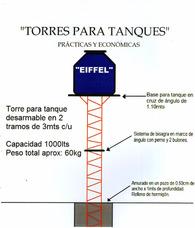 Torres Para Tanques De Agua Eiffel