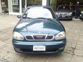 Daewoo Lanos 1.8 Full C/gnc 2000 Impecable Financio