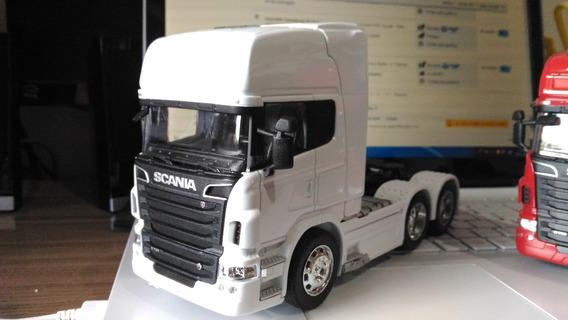 Miniatura Caminhão Scania R730 - Welly 1:32