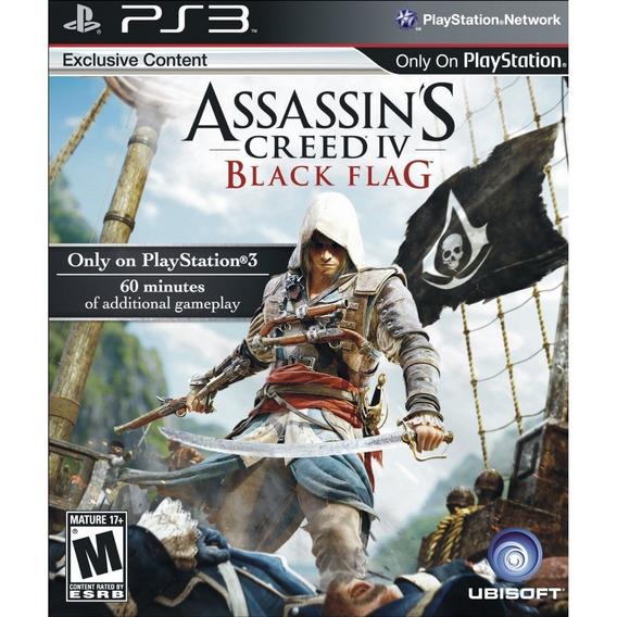Assassins Creed Iv Black Flag Ps3 Lacrado