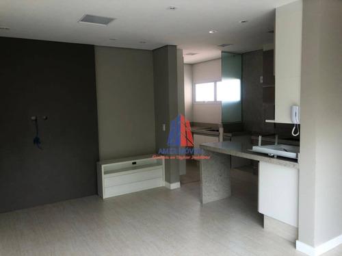 Apartamento Com 2 Dormitórios À Venda, 81 M² Por R$ 360.000,00 - Vila Santa Maria - Americana/sp - Ap1548