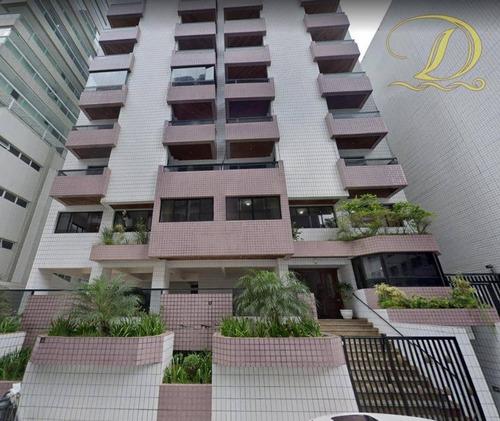 Imagem 1 de 17 de Apartamento Mobiliado Com 2 Dormitórios Apenas A 90 Metros Da Praia, À Venda No Canto Do Forte!!! - Ap3766