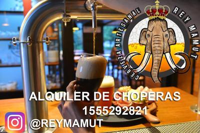 Alquiler Choperas 30l Y 50l Cerveza Artesanal 1155292821