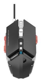 Mouse Gamer Gamemax Gx9 Até 4000 Dpi Mecanico Cor Preta